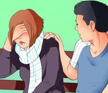 Flirter avec une fille timide verre